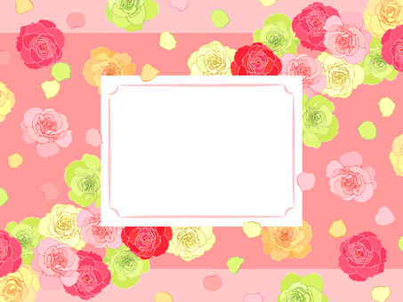Rose Rain and Flower Snowstorm Frame-02
