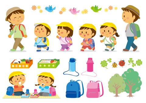 Excursion kids set