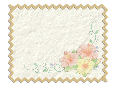Wrinkle paper and flowers ★ 0144-C