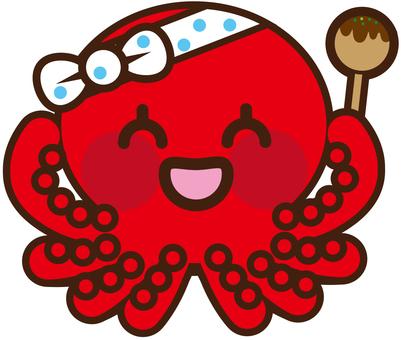 Takoyaki character