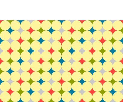 Retro dot pattern material 2
