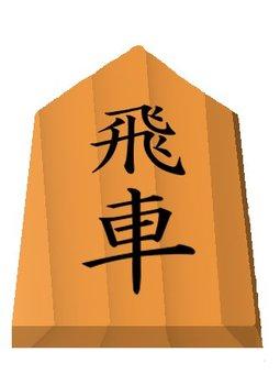Shogi's piece (fly)