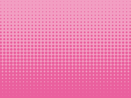 Background material of color halftone (pink)