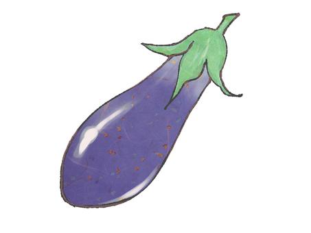 Eggplant japanese style texture
