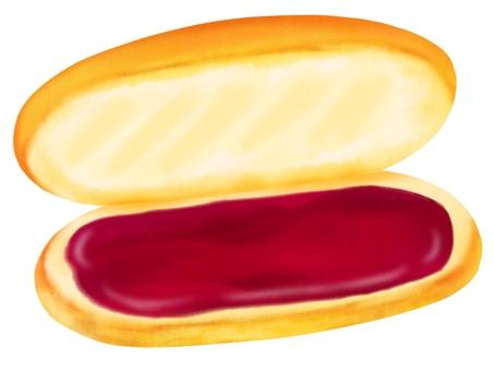 Coppedpan bean paste