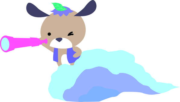 Wanko on the clouds