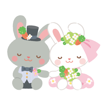 Wedding rabbit 3