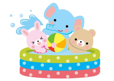 可愛的動物插圖4