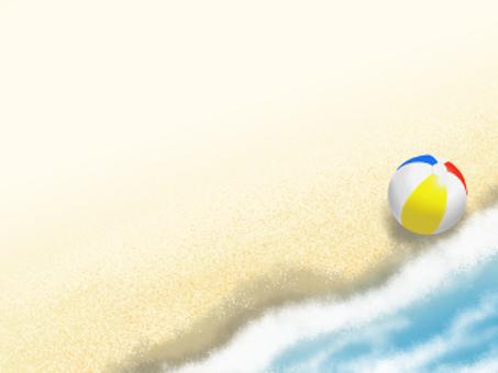 波浪沙灘·1