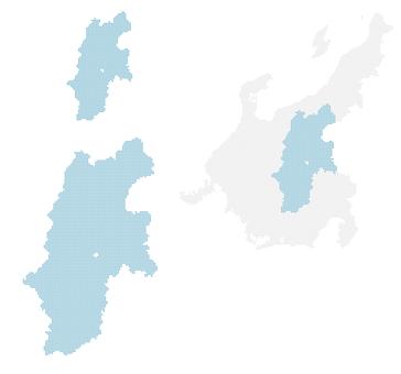 Dot map Nagano 2