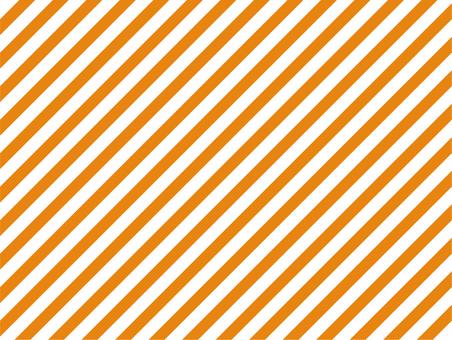 背景 ストライプ 斜め スラッシュ 橙