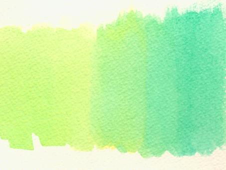 Summer color two-color gradation green