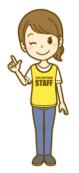 Woman (volunteer): A_ point 01F