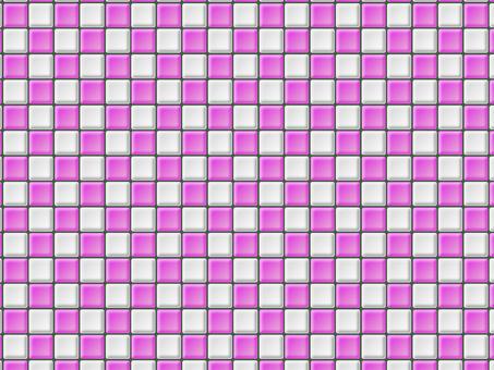 Tile background pink