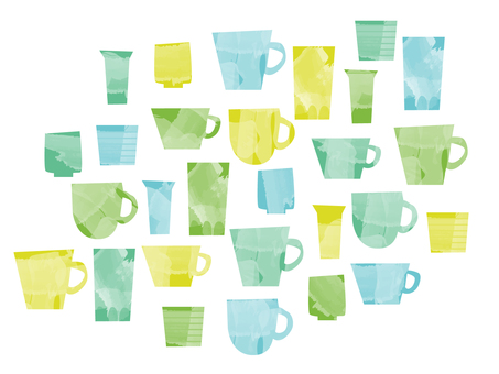 Various cups 1