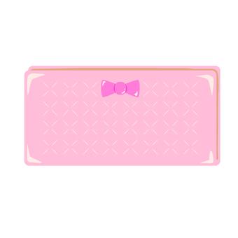 Pink wallet