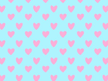Whole heart wallpaper pink x sky blue