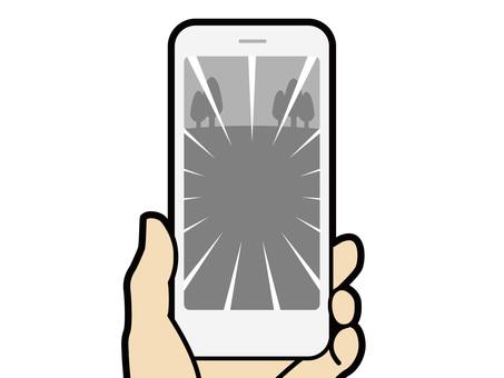 雙手操作智能手機遊戲應用03