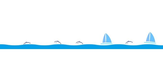Horizon line _ Yacht