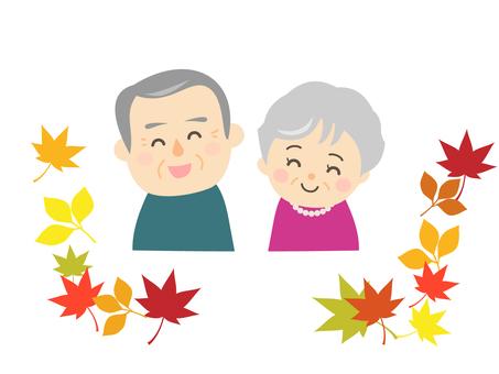 敬老の日_おじいちゃんとおばあちゃん