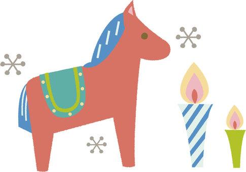 Dunara Horse Christmas