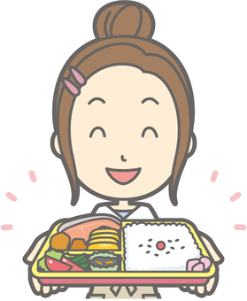 New wife housewife d - bento - bust