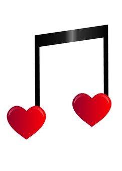 Heart note 1