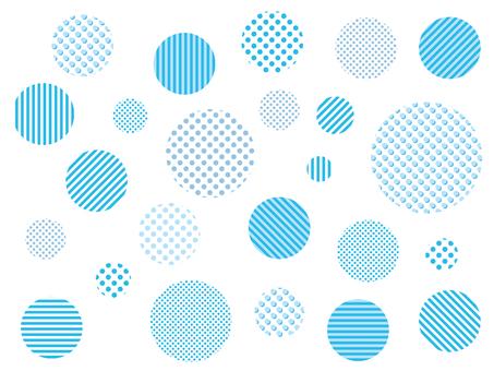 Dot Pattern Light Blue Swatch