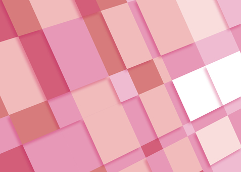 Pink Geometric Pattern Block Tile Background Wallpaper
