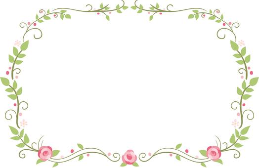꽃 테두리