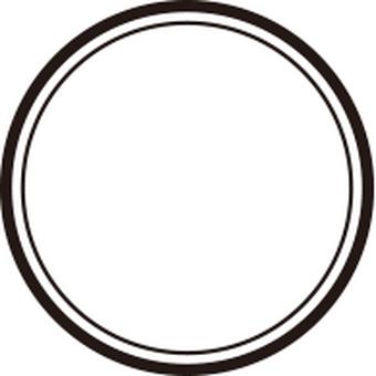 Round frame