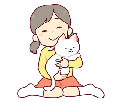 Cats and girls
