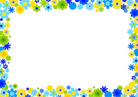 꽃 프레임 01
