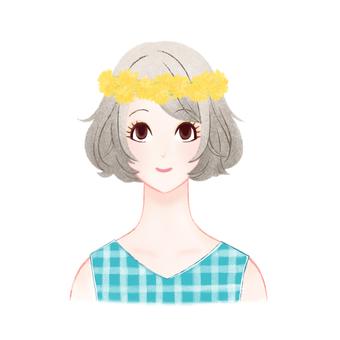 Corolla dandelion