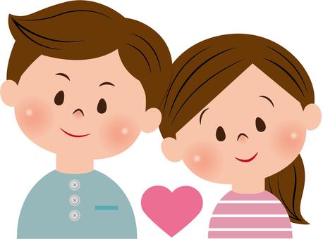 Couples heart