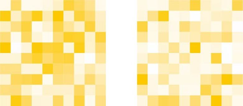 Mosaic yellow