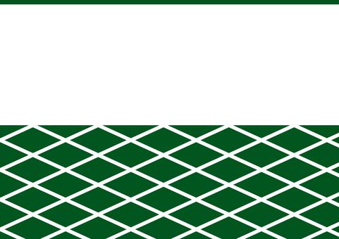 Japanese style _ wall pattern _ green