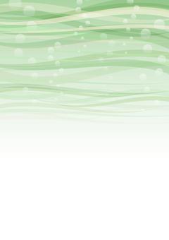 在海中的紋理 - 淺綠色