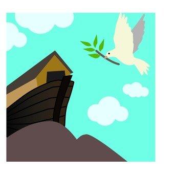 방주와 비둘기
