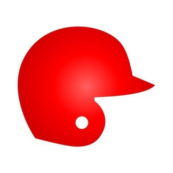 Baseball Helmet · Red
