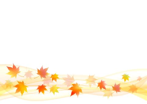 Fall image material 8