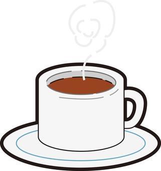 Coffee, coffee, cocoa, tea