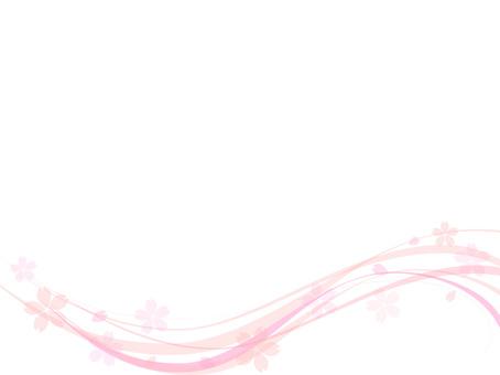 Cherry background frame