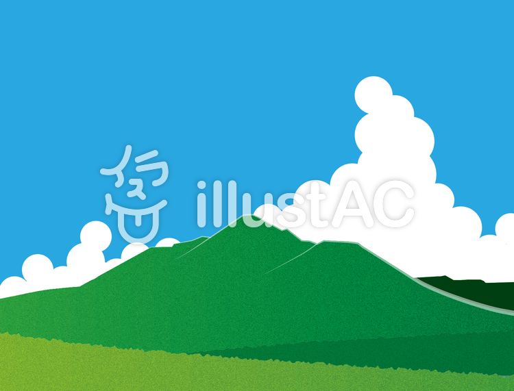 夏の霧島山イラスト No 470580無料イラストならイラストac