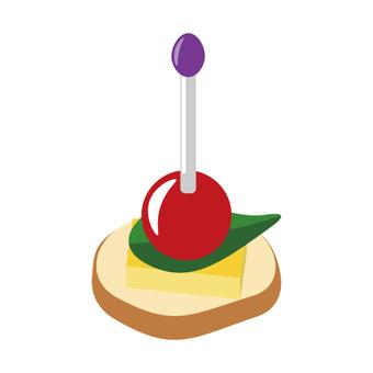 Pin choise(開胃小菜)