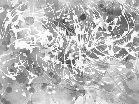 Watercolor Grunge 4 (monochrome)