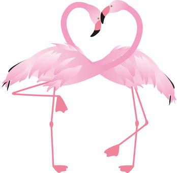 Flamingo _ Heart 03