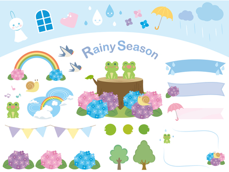 Rainy season material collection 1