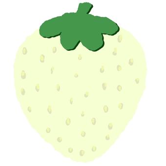 White strawberry