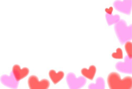 Heart Pattern Card
